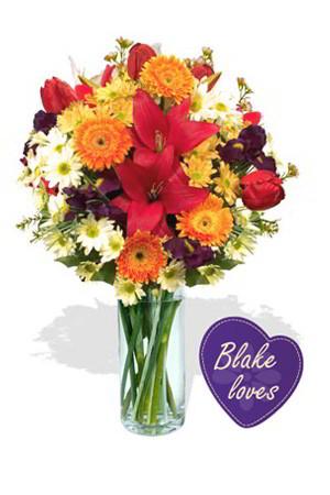 Travis from Australia sent Blake Loves Occasion to Kasinee & Mumma in Thailand